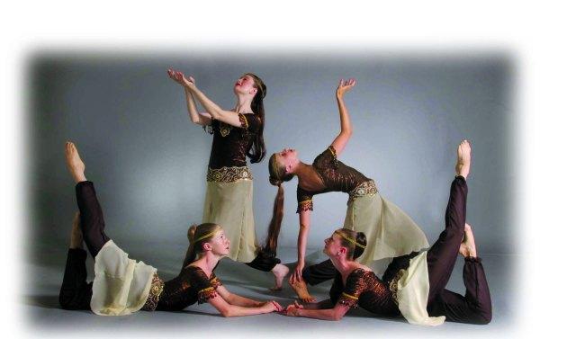 feathered arabian dancers