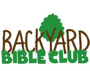 Backyard bible club